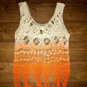 Tops - Crochet tanks top